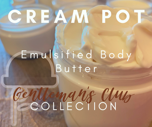 Cream Pot Body Cream (Gentlemen's Club)