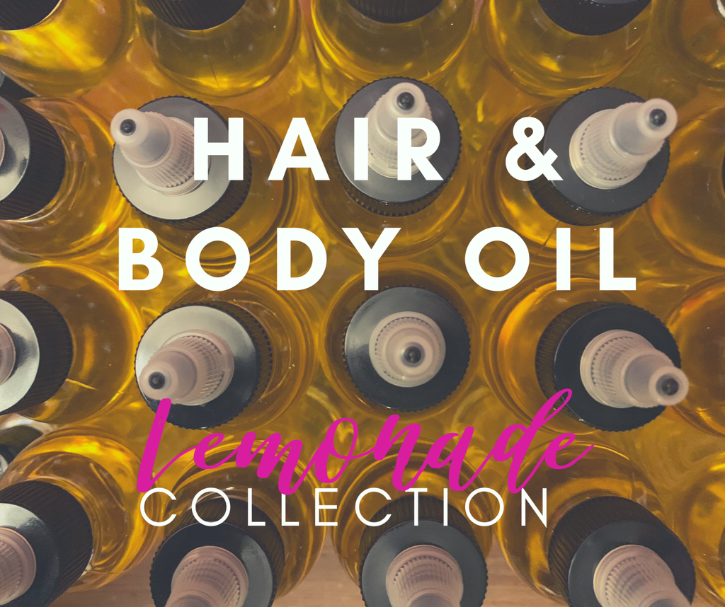 Hair & Body Oil (Lemonade Release)