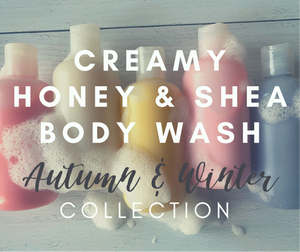 Creamy Honey & Shea Body Wash (Autumn)