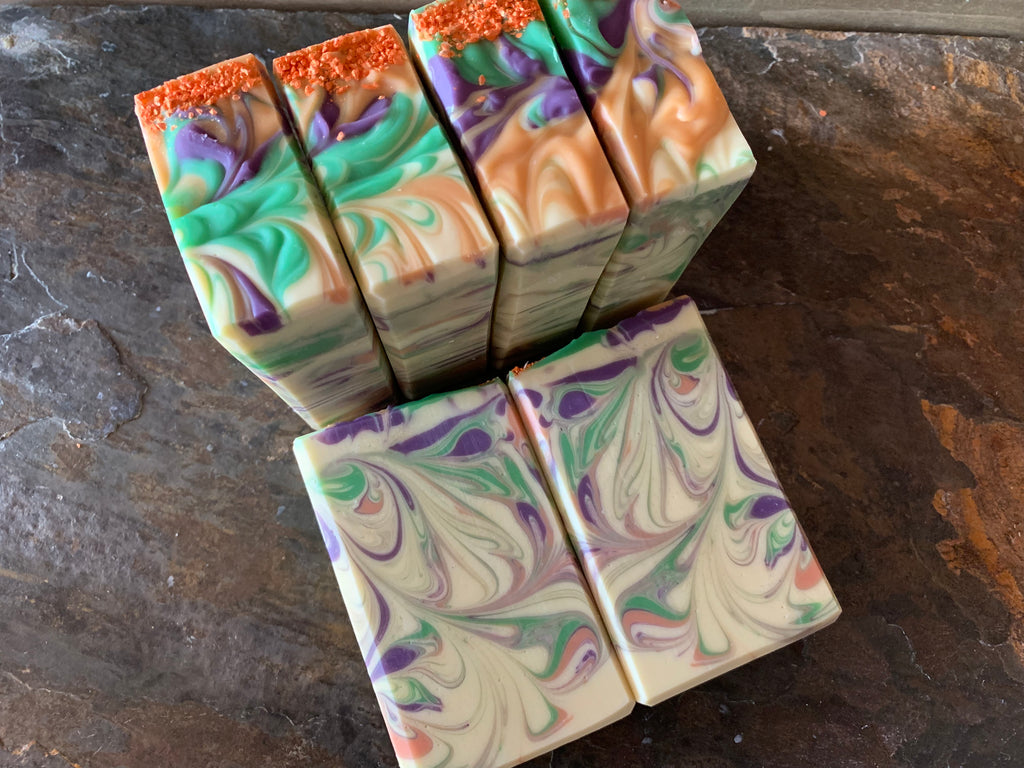 Clementine Lavender (aka Spring Fling)Hand Crafted Artisan Soap