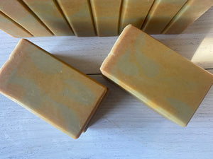 Apple Cider Vinegar, Avocado, and Turmeric Handcrafted Artisan Soap