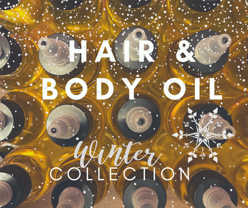 Hair & Body Oil (Winter Collection)