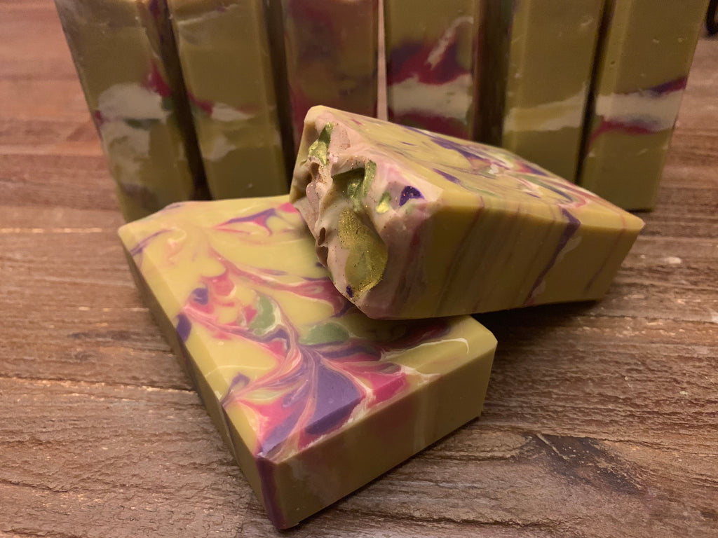 Mediterranean Fig Handcrafted Artisan Soap