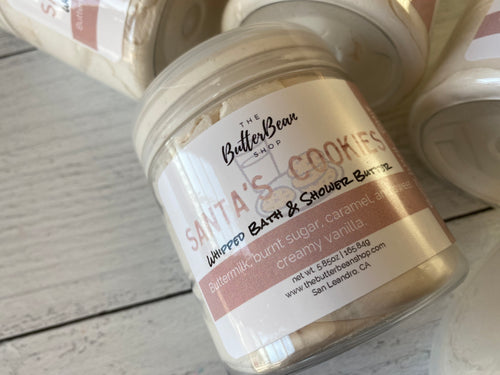 Santa's Cookies Whipped Bath & Shower Butter