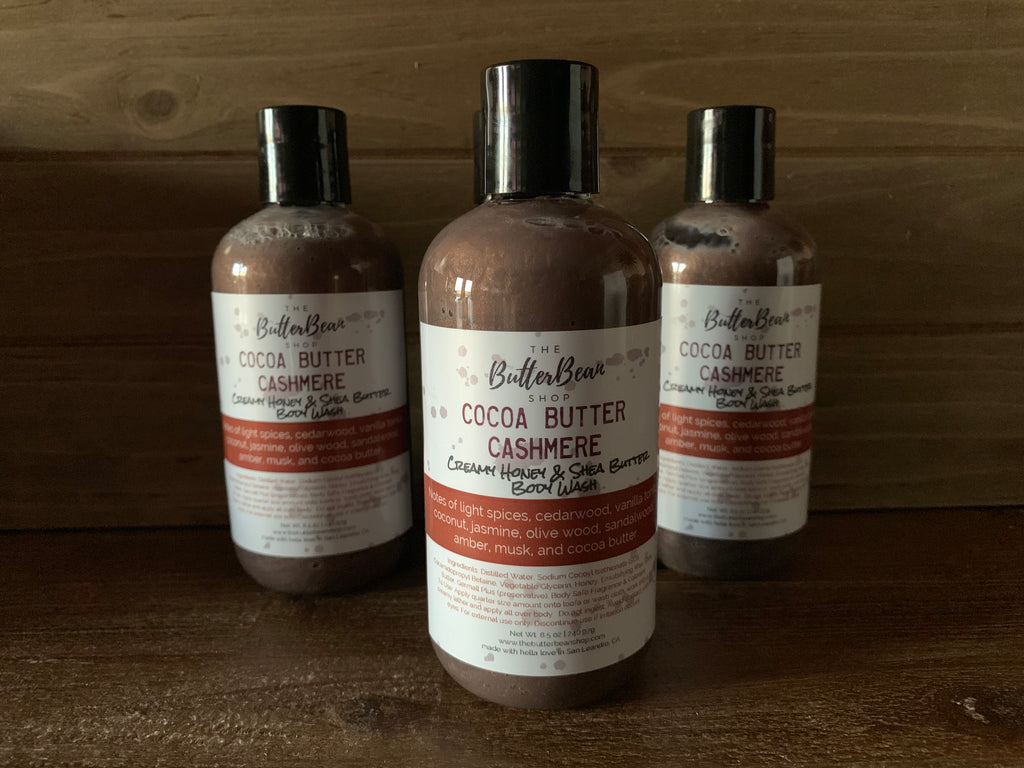 Cocoa Butter Cashmere Creamy Honey & Shea Body Wash