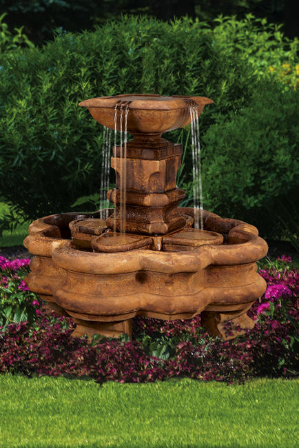 Classic Planter Pillar Fountain, 13 pc.(5637A, 5637B, 7636, 6636, 6636A[4], 7583[4], 7586 & CK623, PS450)