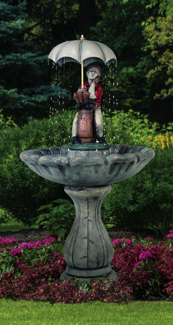 Classic Golfer Fountain, 4 pc.(4590T, 5690P, 7135+AD, 6135, 7235 & CK114, PS1)