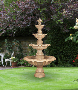 Four Tier Renaissance Fountain, 9 pc.(5705, 6705, 7705, 6706+AD, 7707, 6708+AD, 7708SC, 6709SC+AD, 7709+AD & CK180, P500)