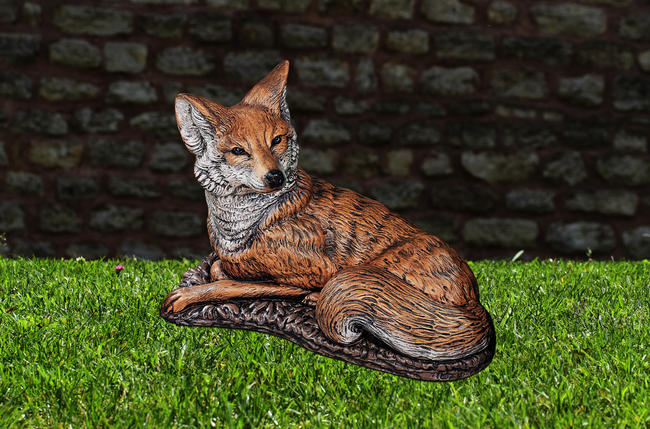 Fox - Painted