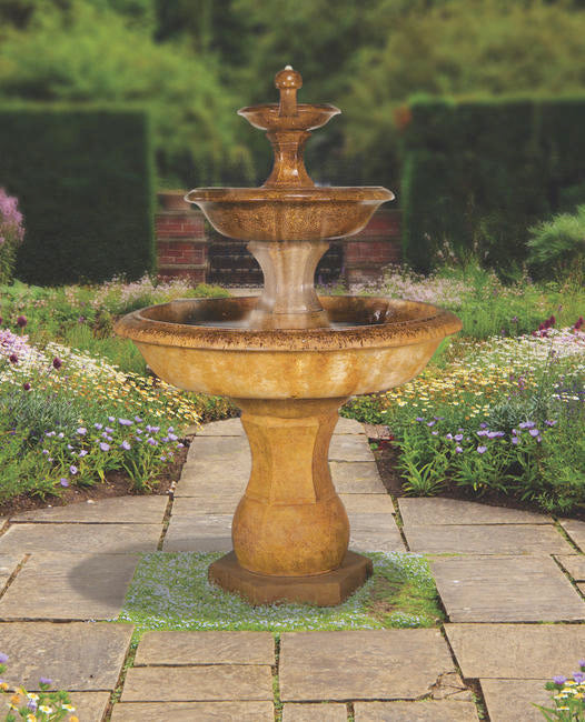 Grande Barrington Fountain, 6 pc.(5648, 7648, 6648S, 7647, 6649, 7651 & CK636, P500)