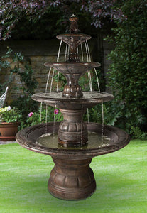 Grande Contemporary Four Tier Fountain, 14 pc.(5532, 6532, 6533, 7533, 6534S+AD, 7534+AD, 6535, 6536[4], 7535 & CK5532F14, P500)
