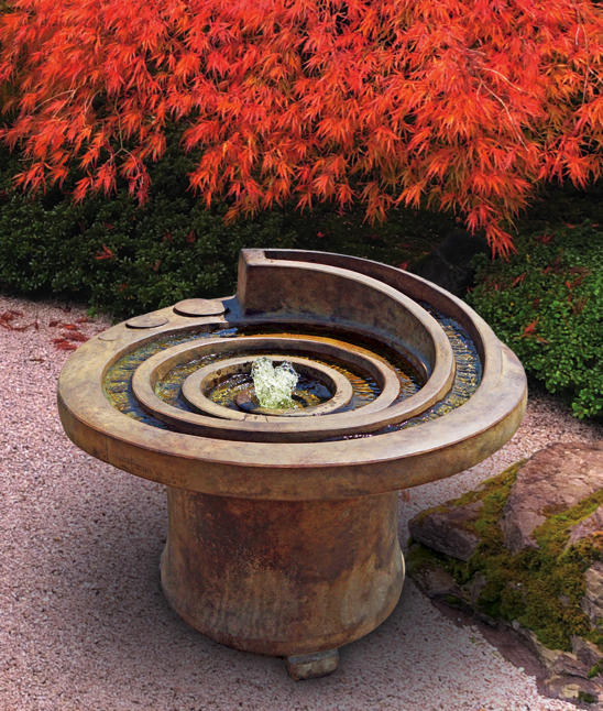 Hurricane's Eye Patio Fountain, 2 pc.(5585, 6585 & CK411, AB870, PS450)