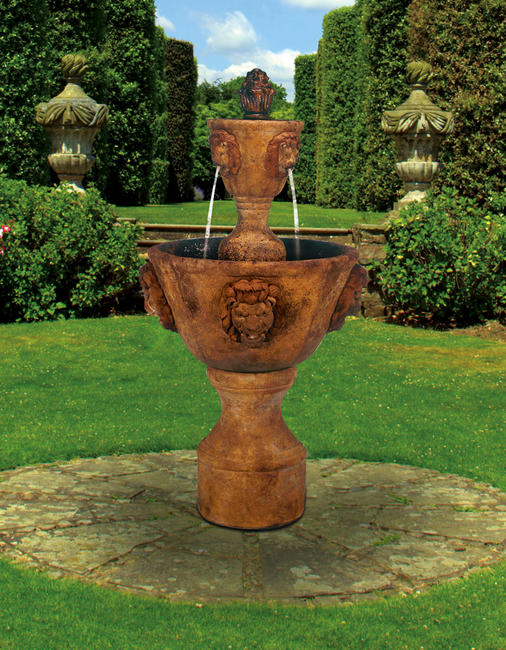 Medium Two-Tier Leonesco Fountain, 5 pc.(5215, 6215, 7215, 6216, 7216+AD & CK165, PS450)