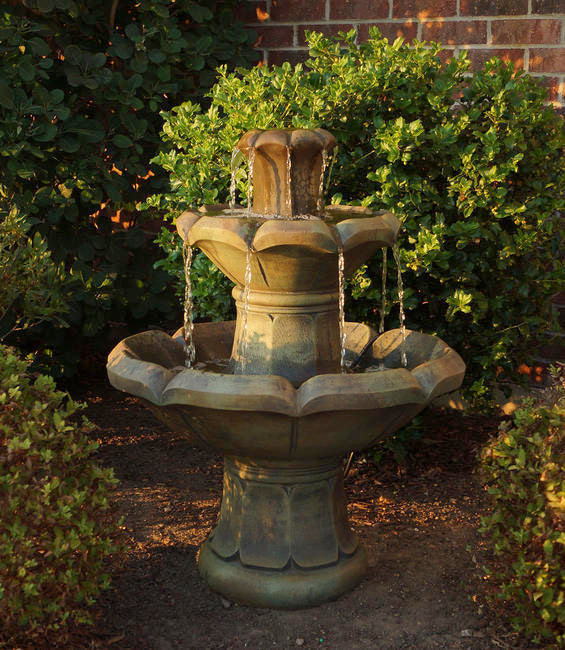 Montreux Two-Tier Fountain, 3 pc. (5011, 6011A, 6011B & CK463, PS1)