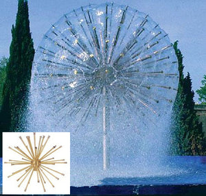 Dandelion Crystal Ball Fountain Head