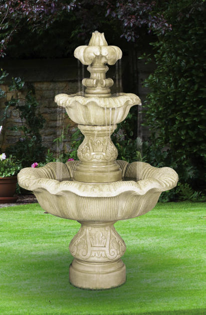 Two Tier Renaissance Fountain, 5 pc.(5705, 6705, 7705, 6706SC+AD, 7707+AD & CK103, PS1.5)