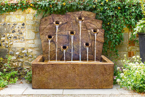 Rock Wall Fountain, 2 pc.(5885, 5885C & CK490, PS850, AB871L[2])