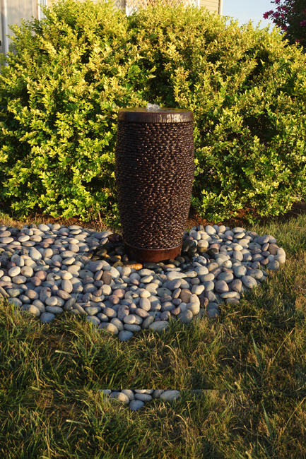 Shimmering Stones Pondless Fountain, 2 pc. (5307+AD, UG300 & CK462, PS450)
