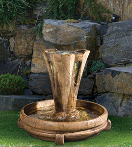Small Vesuvio Fountain, 2 pc.(5291+AD, 6624N & CK427, PS450, AP100, AB871)