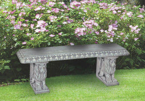 Straight Lion Bench