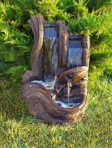 Twin Falls Log Fountain, 1 pc.(2654 & CK472, PS850, AB870L-3)