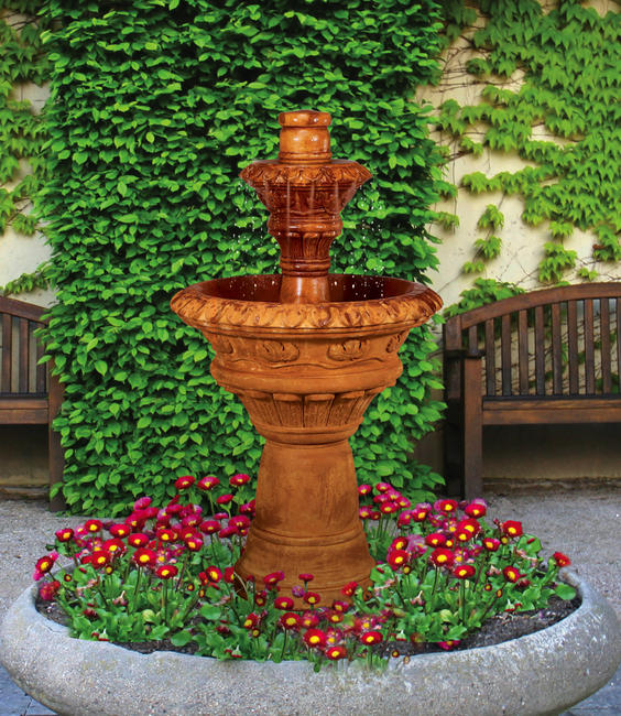 Valencia Two-Tier Fountain, 3 pc.(5501, 6501, 6502 & CK629, PS1.5)