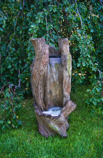 Waterfall Log Fountain, 1 pc.(2650 & CK444, PS3, AB871L)