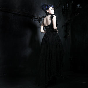 Lace Rose Palace gothic evening dress