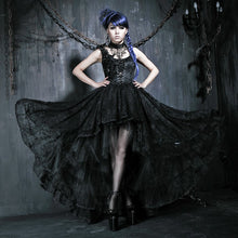Load image into Gallery viewer, Lace Rose Palace gothic evening dress