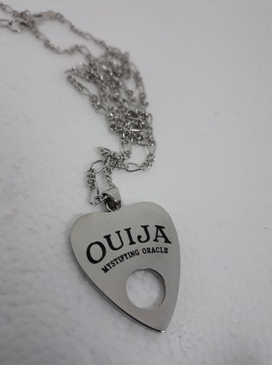 Ouija planchette occult necklace