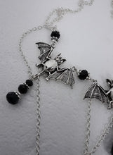 Load image into Gallery viewer, Bat droplet necklace