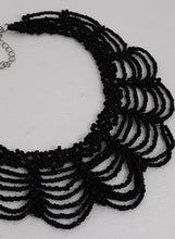 Load image into Gallery viewer, Gothic beaded choker