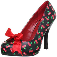 Load image into Gallery viewer, Cutiepie 06 - Cherry high heel shoe