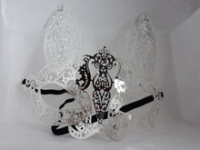 Load image into Gallery viewer, Metal filigree elegant gothic masquerade mask - Rabbit