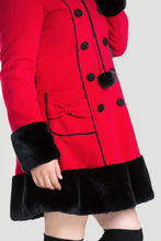 Load image into Gallery viewer, Sarah Jane Lolita elegant gothic winter coat -PLUS SIZE