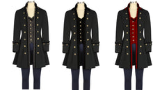 Load image into Gallery viewer, Grand Pirate Steampunk Victorian Jacket Coat