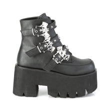 Load image into Gallery viewer, Ashes 55 - Bat buckle cute gothic lolita boot - Preorder
