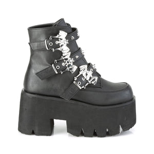 Ashes 55 - Bat buckle cute gothic lolita boot - Preorder
