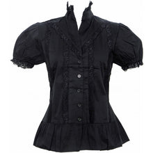 Load image into Gallery viewer, Arabella Lace Elegant Victorian Gothic Shirt