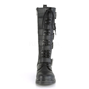 Bolt 425 - Knee-high buckle/strap combat boot