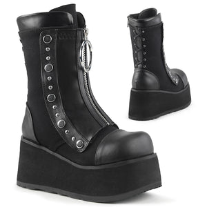 Clash 206 - Women's Platform, Hidden Lace-Up Wedge, Mid-Calf Boot PRE-ORDER