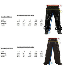 Load image into Gallery viewer, Cyber gothic rave Gas Mask Pants - men's / unisex