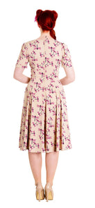 Eloise dragonfly pin up rockabilly retro dress plus size