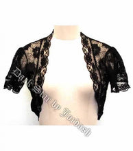 Load image into Gallery viewer, Lace gothic shrug bolero