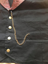 Load image into Gallery viewer, Mens Steampunk Smoking Paisley gothic brocade collar Waistcoat
