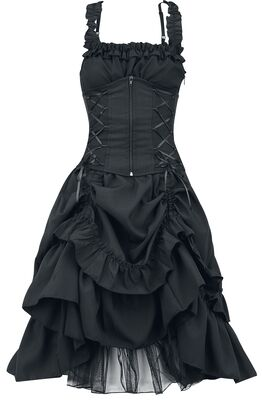 Soul Dress Gothic Punk Glamour Corset Gown