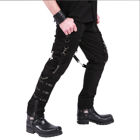 Spiderweb Straight-leg Cyber Trousers