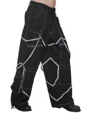 Load image into Gallery viewer, Cyber rave phat wide leg rave Pants - Men's/Unisex