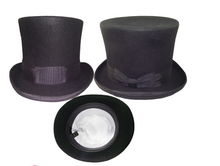 Load image into Gallery viewer, Classic Top Hat - gothic steampunk formal standard victorian Top Hat