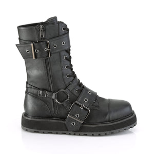 Valor220 - Small platform strap buckle mid-calf boot - PREORDER